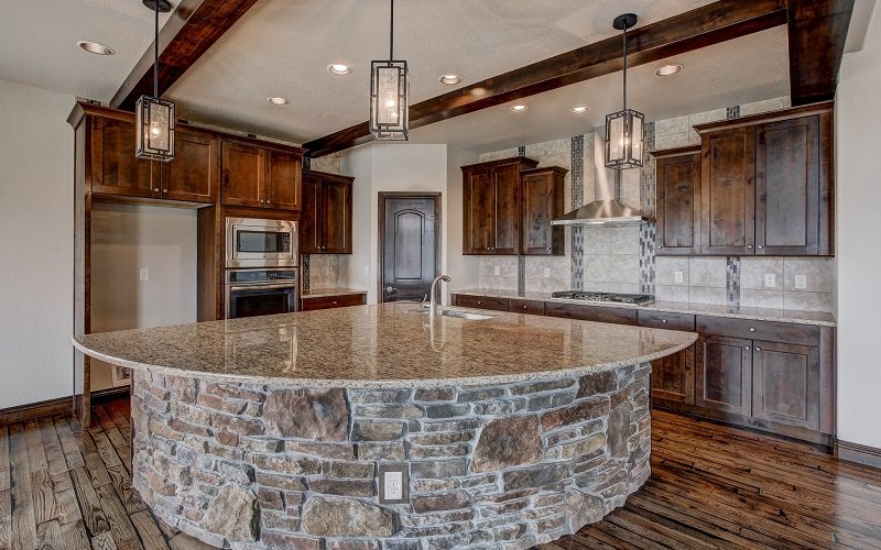 The Riverside by Jayden Homes Colorado kitchen