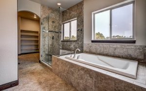 The Riverside by Jayden Homes Colorado bath