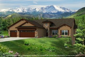The Brookside Craftsman by Jayden Homes Colorado