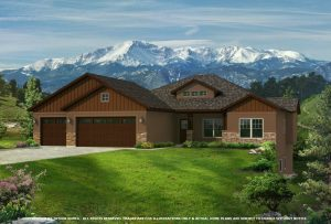 The Brookside Farmhouse by Jayden Homes Colorado