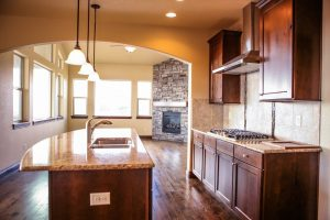The Eagles Nest by Jayden Homes kitchen