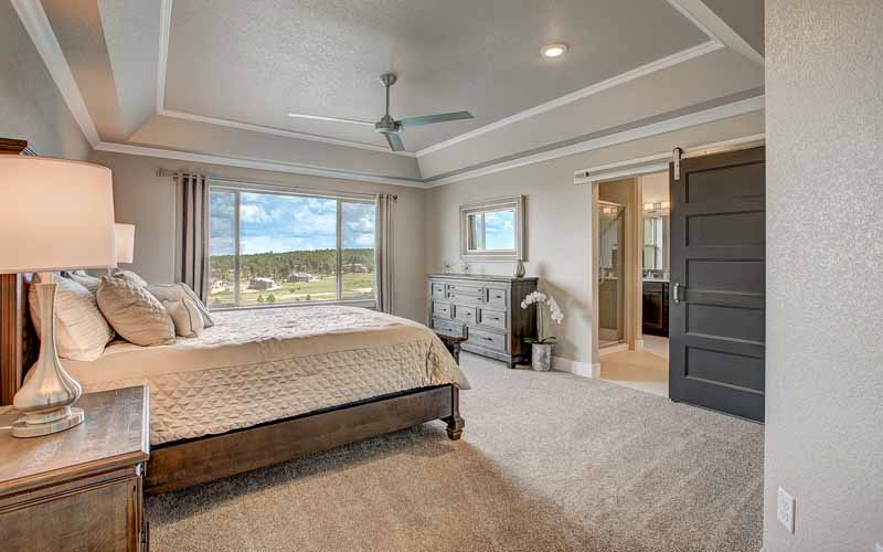 The Summit by Jayden Homes bed