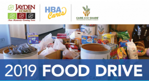Care and Share food drive